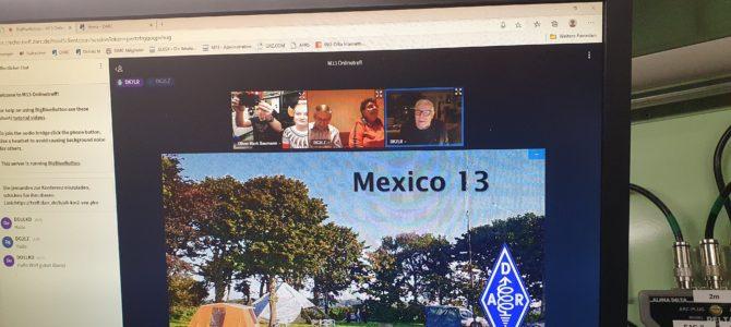 """CQ M13 – HIER: Zusammenfassung OV-Abend vom Freitag, den 11. Dezember 2020 """"Jahresabschluss Mexico 13"""""""