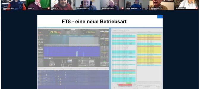 CQ M13 – HIER: Technikabend FT8 – Eine gelungene Auftaktveranstaltung & Weitere Informationen