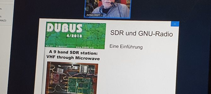 CQ M13 – HIER: Technikabend Software Defined Radio (SDR) & Weitere Informationen