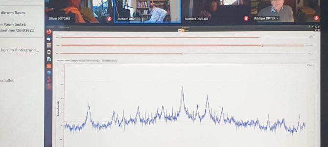 CQ M13 – HIER: Technikabend Software Defined Radio (SDR) vom letzten Mittwoch, den 14.04.2021