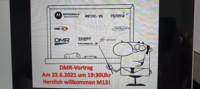 Online-Technikabend – DMR mit Hanne, DJ3LE
