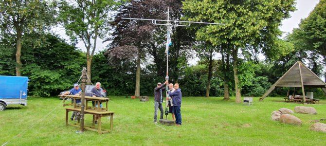 UKW-Fieldday in Nübel – bestes Wetter & super Stimmung