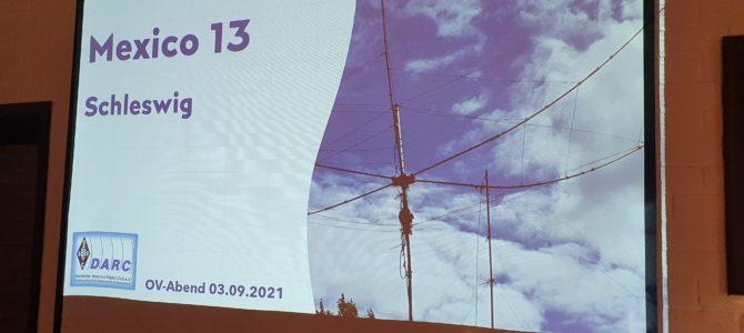 CQ M13 – HIER: Zusammenfassung OV-Abend vom Freitag den 03. September 2021